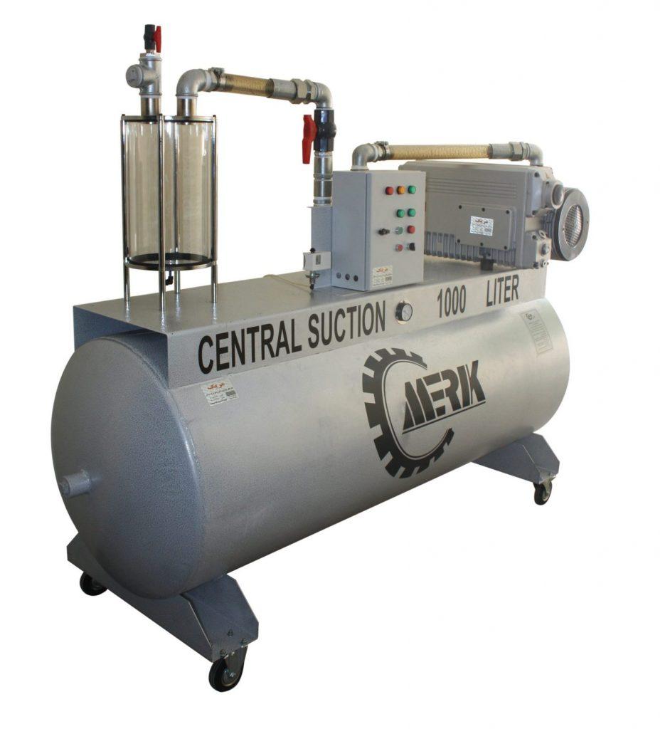ساکشن مرکزی 1000 لیتری تک استیج